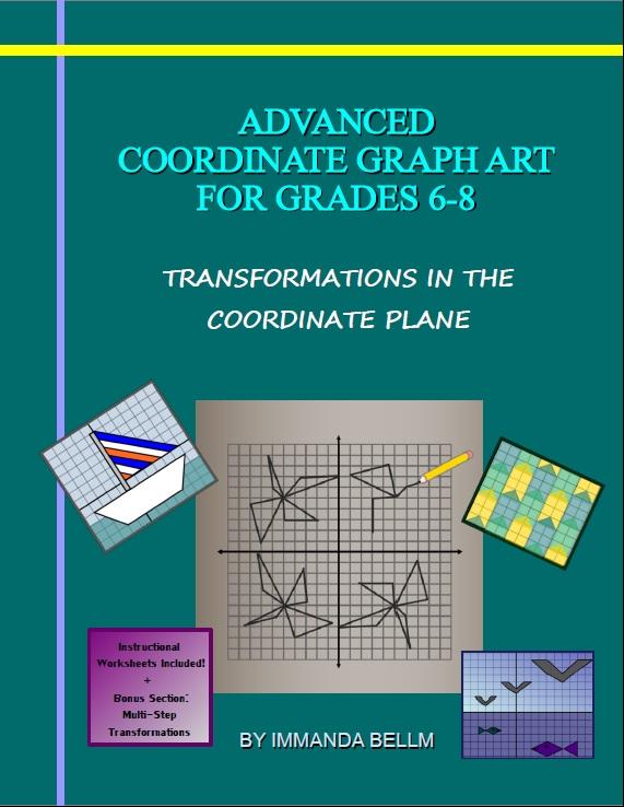Zombie Math Teacher Advanced Coordinate Graph Art For Grades 6 8