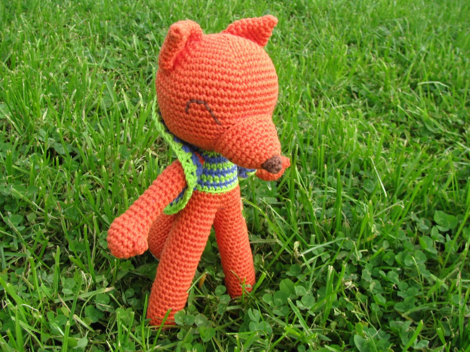 El Crochet de Pola: Zorro Lucas