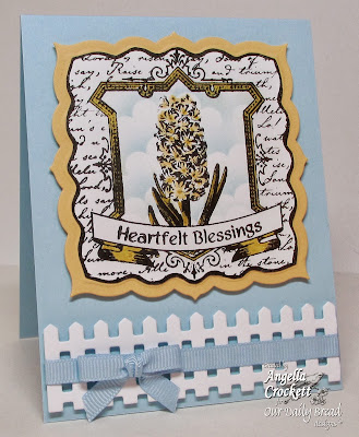ODBD Hyacinth Card Designer Angie Crockett