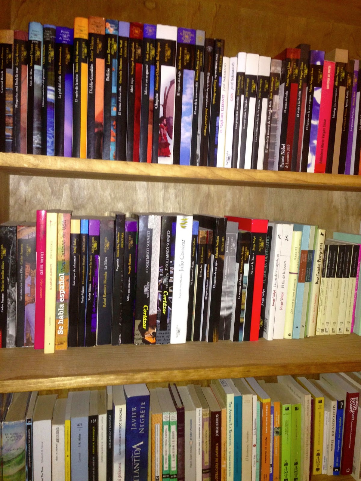 The Of Blog How Do You Organize Books On Your Shelves