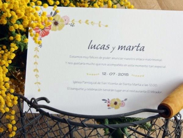 Mimosas para bodas