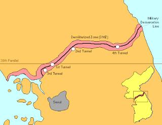 Hantangang Rafting, DMZ Tours, Cheorwon