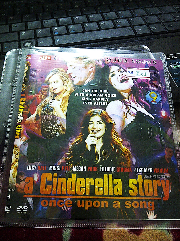 a cinderella story � once upon a song � izz latif