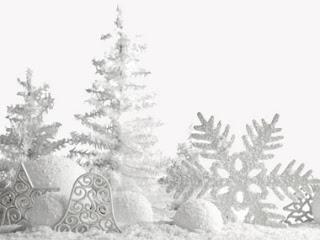 paesaggio con neve immagine
