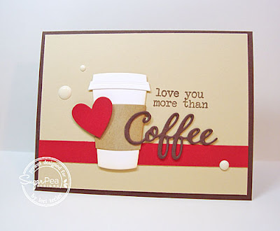 Love You More Than Coffee card-designed by Lori Tecler/Inking Aloud-stamps and dies from SugarPea Designs