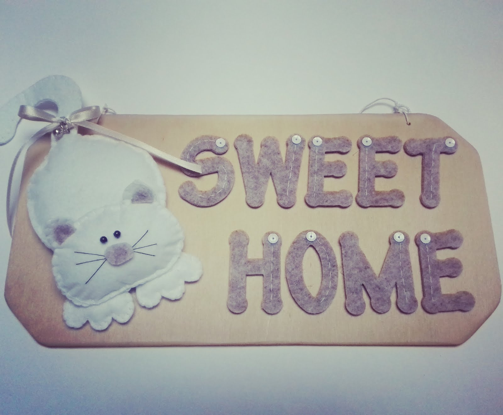 Targhetta Home Gatto