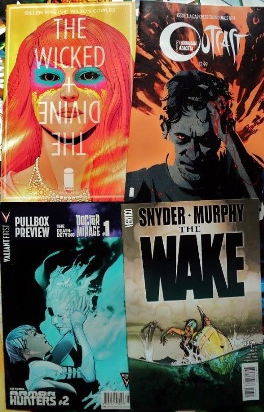 July comic books / cómics de julio