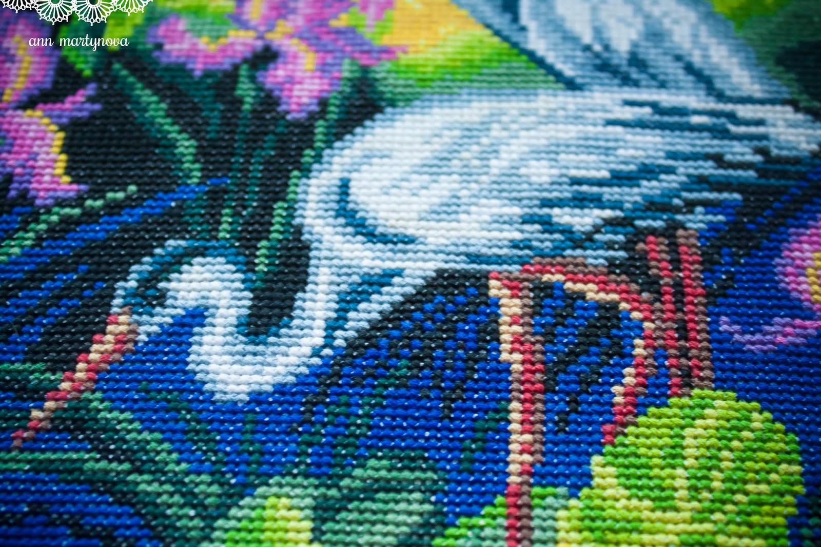 схема для вышивки феникс в паре с драконом