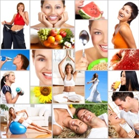 healthy food, organic food, adequate nutrition, active style