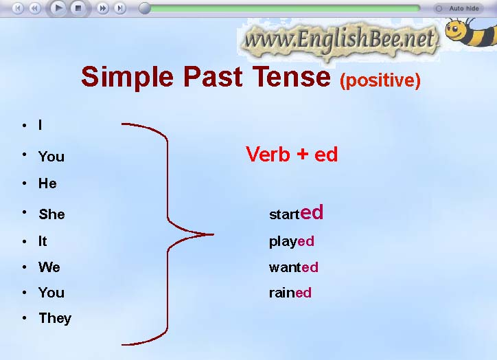 The Simple Past Tense - Lessons - Tes Teach