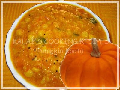 Hot and Sweet Pumpkin / Parangikai / Manjal Poosanikai Kootu