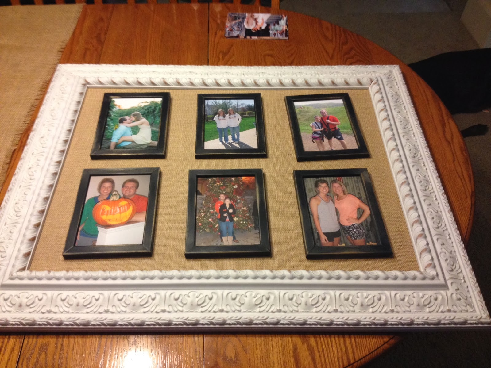Made in the shade blog diy picture frame inside a picture frame frame montage jeuxipadfo Gallery