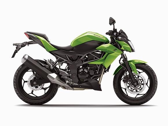 Gallery Foto Motor Kawasaki Z250SL 2014