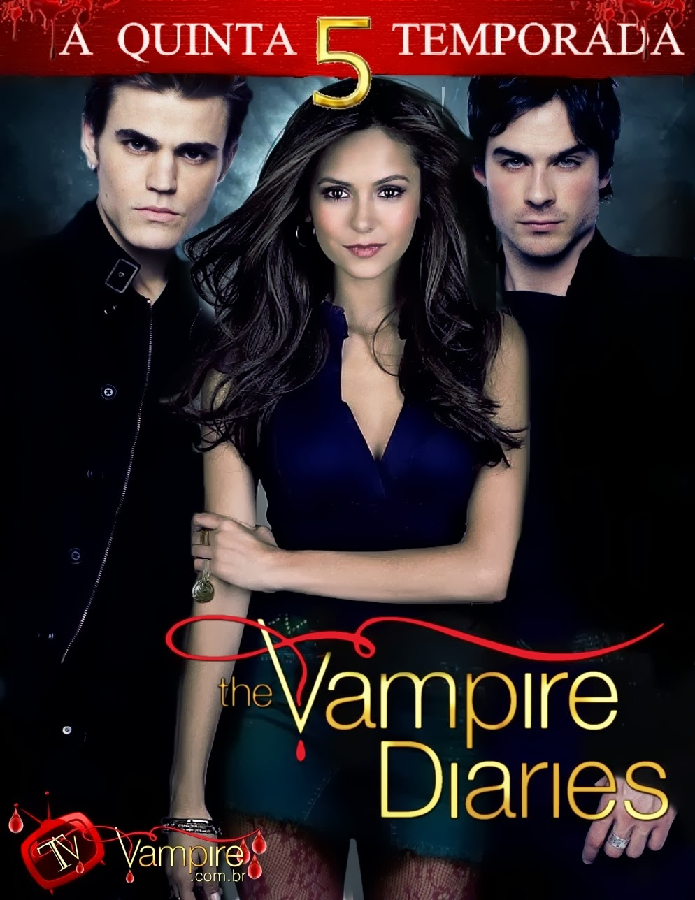 The Vampire Diaries: 5ª Temporada Completa – Legendado