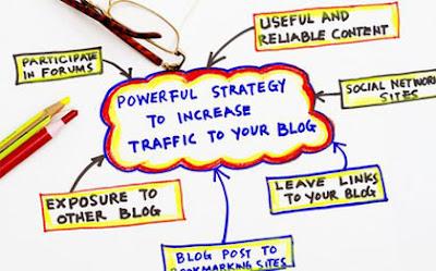 cara mendapat banyak traffic ke blog