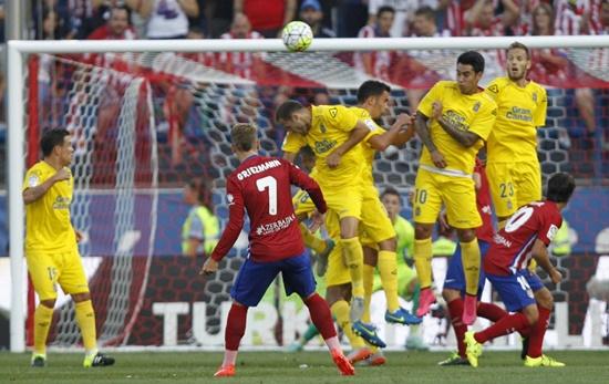 Atlético de Madrid 1 x 0 Las Palmas - Campeonato Espanhol(La Liga) 2015/16