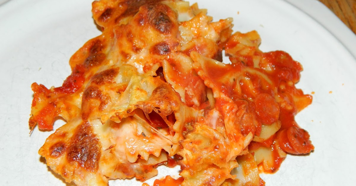 Polka-Dotty Place: Pepperoni Pasta Bake