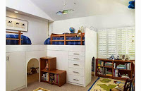 Kids Bedroom with Loft Bed Application