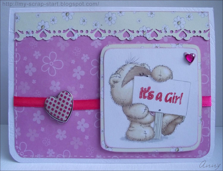 Открытка ко дню рождения дочки