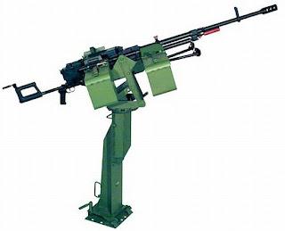 Вариант пулемётной установки 6П50-3