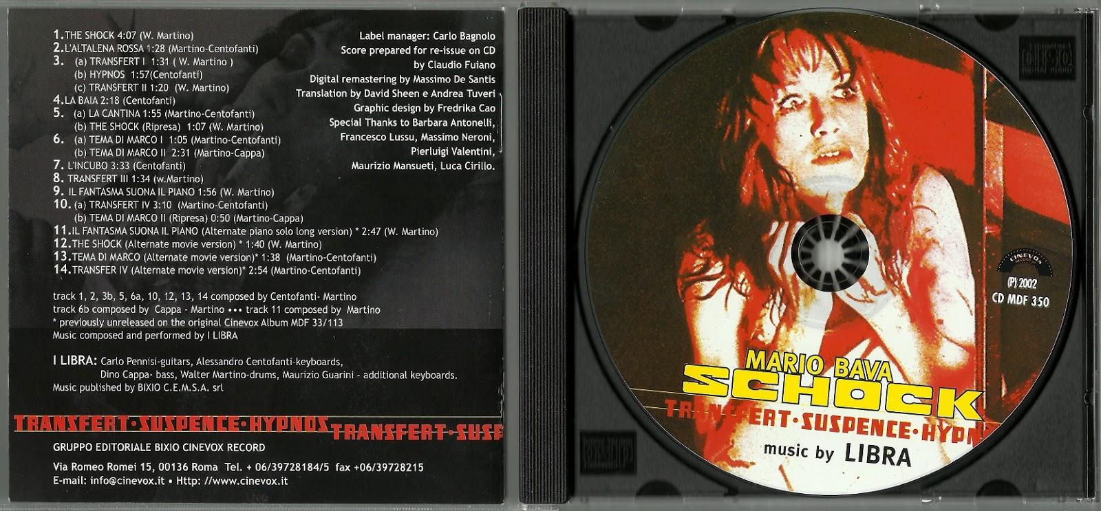 Libra - Schock (Transfert - Suspence - Hypnos) (Original Soundtrack)