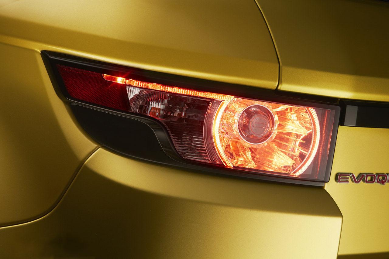 car i 2013 Range Rover Evoque Sicilian Yellow Edition