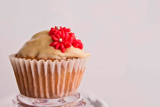 Cupcakes de pera y canela