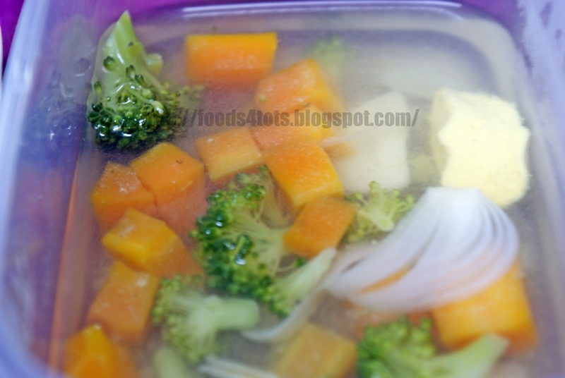 Masak Bening Carrot & Broccoli