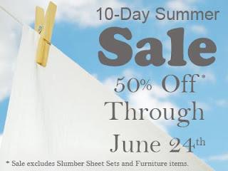 Jennifer Adams Home Sheets - Bedding Sale