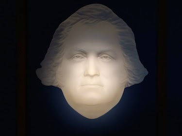 Chuck and Lori's Travel Blog - George Washington, Inverted Carving