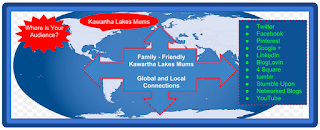 image Kawartha Lakes Mums - Reaches Your Online Audience Map with list of social media sites
