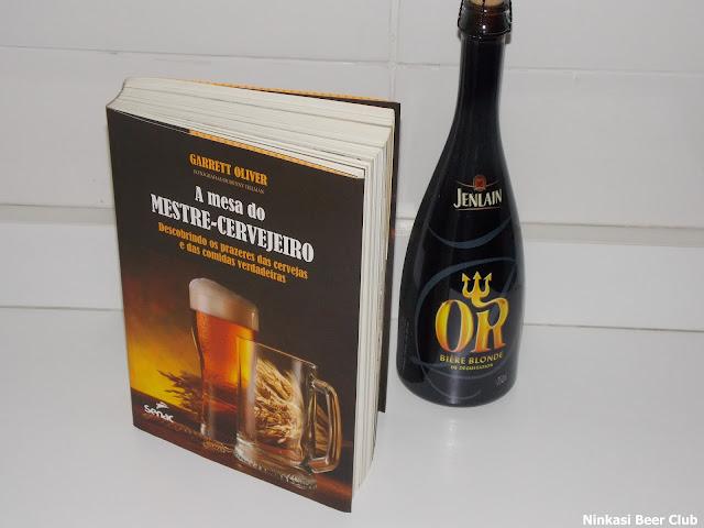 A Mesa do Mestre Cervejeiro - Beerblioteca Ninkasi Beer Club