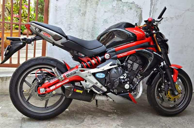Kawasaki Ninja 650 Modifikasi