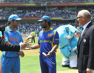 The Final started with a controversial incident with the toss having threw twice
