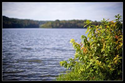 Lake in Hocking Hills