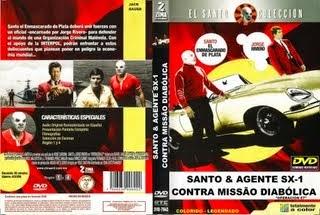 SANTO E AGENTE SX-1 CONTRA MISSÃO DIABÓLICA