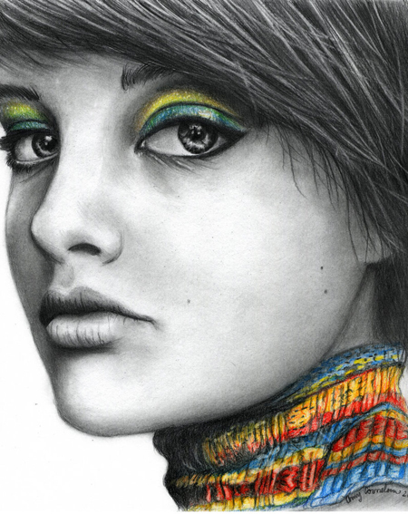 Amazing Color Pencil Portraits