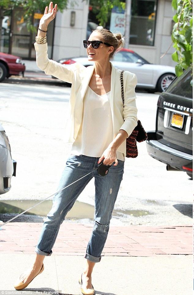 Celebrity Style Steal Olivia Palermo Wiwt My Midlife Fashion