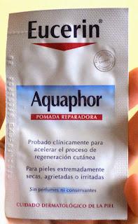 eucerin aquaphor tatuajes