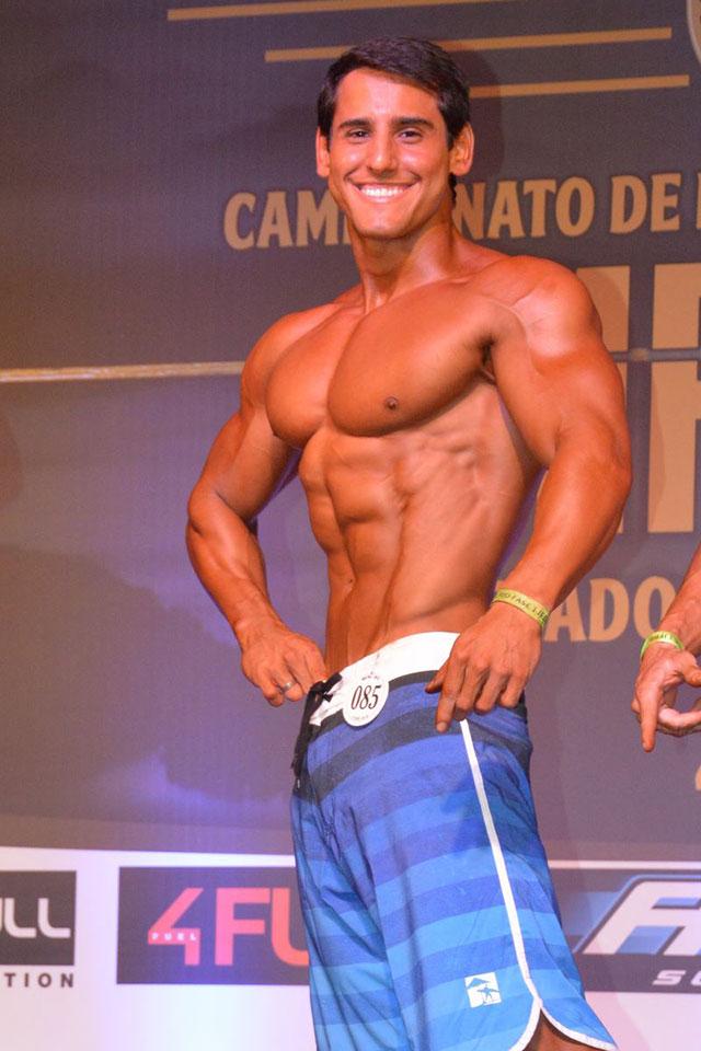 O atleta se preparou em dois meses para a competição. Foto: Alencar Amaral