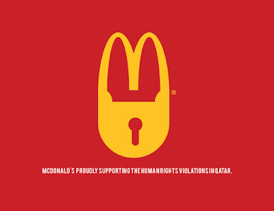 Anti logo de McDonald´s
