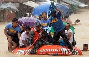 """TYPHOON  """"MARIO""""  SWAMPS  PHILIPPINES!"""