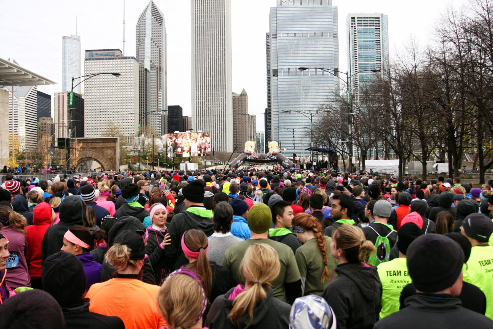 Heather Runs Thirteen Point One: hot chocolate 15k/5k chicago 2016