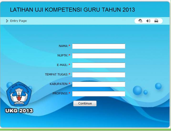 Kumpulan Aplikasi Soal UKG Online 2013 Terbaru SD SMP