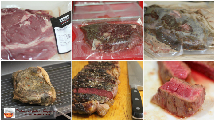 Lazy blog receta de entrecot de lomo alto argentino con for Cocinar un entrecot