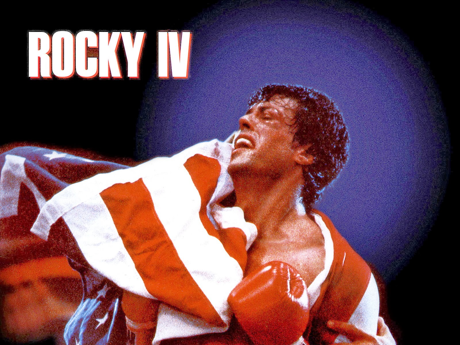 Rocky 4 - Starring Sylvester Stallone, Dolph Lundgren, Brigitte Nielsen and Tony Burton - Released in 1985