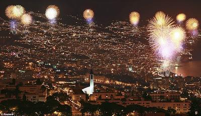 Perayaan Tahun Baru 2012 di Portugal