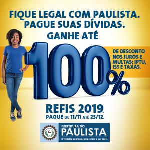 REFIS 2019 de Paulista