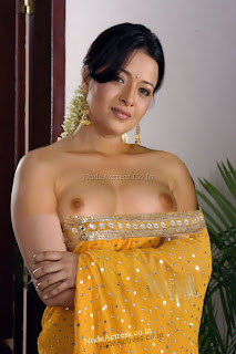Actress Reema sen nude boobs in saree