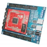 DT-AVR ATMEGA1280 CPU dengan base board